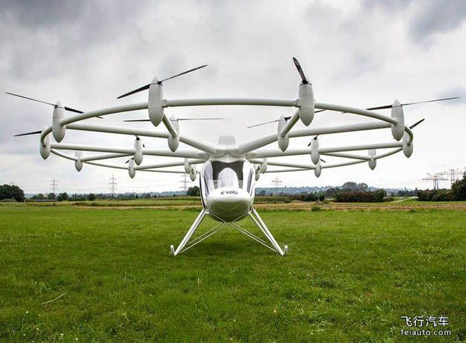 英特尔汽车 Volocopter VC200 飞行汽车参数报价未公布上市