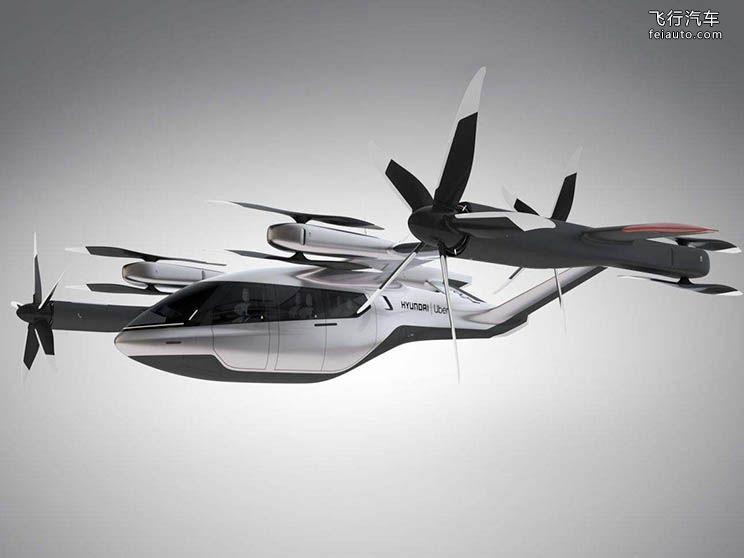 现代 S-A1飞行车 飞