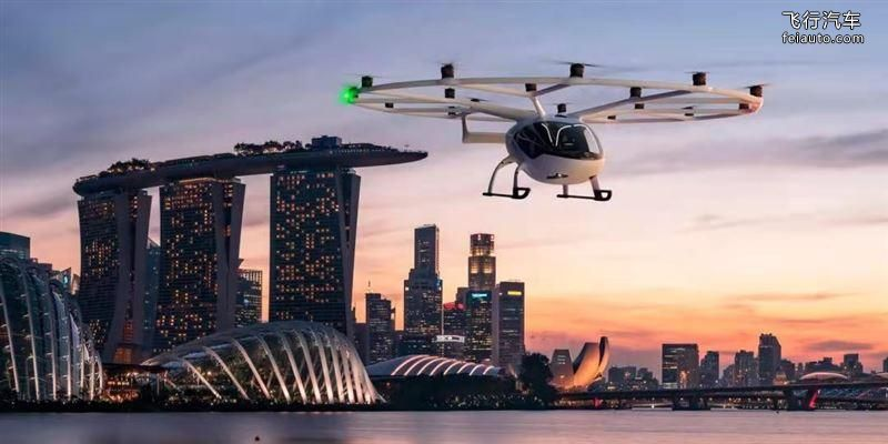 2021年上海车展,吉利飞行汽车来了